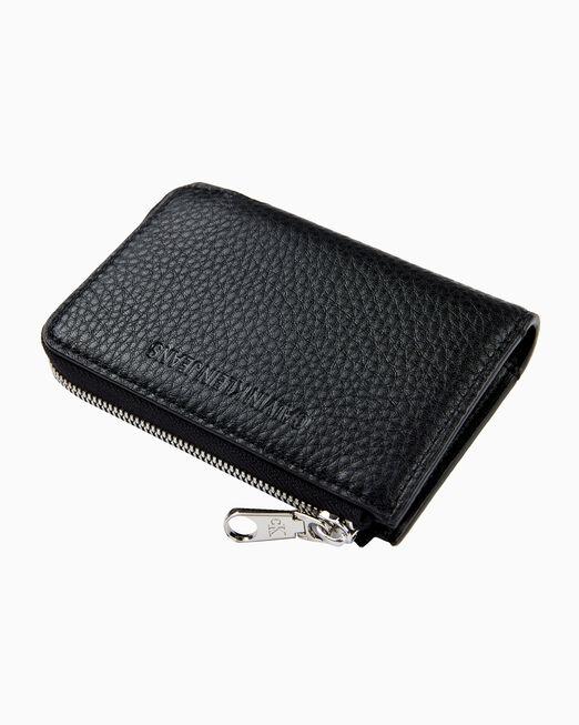 CALVIN KLEIN 여성 유틸리티 레더 지갑