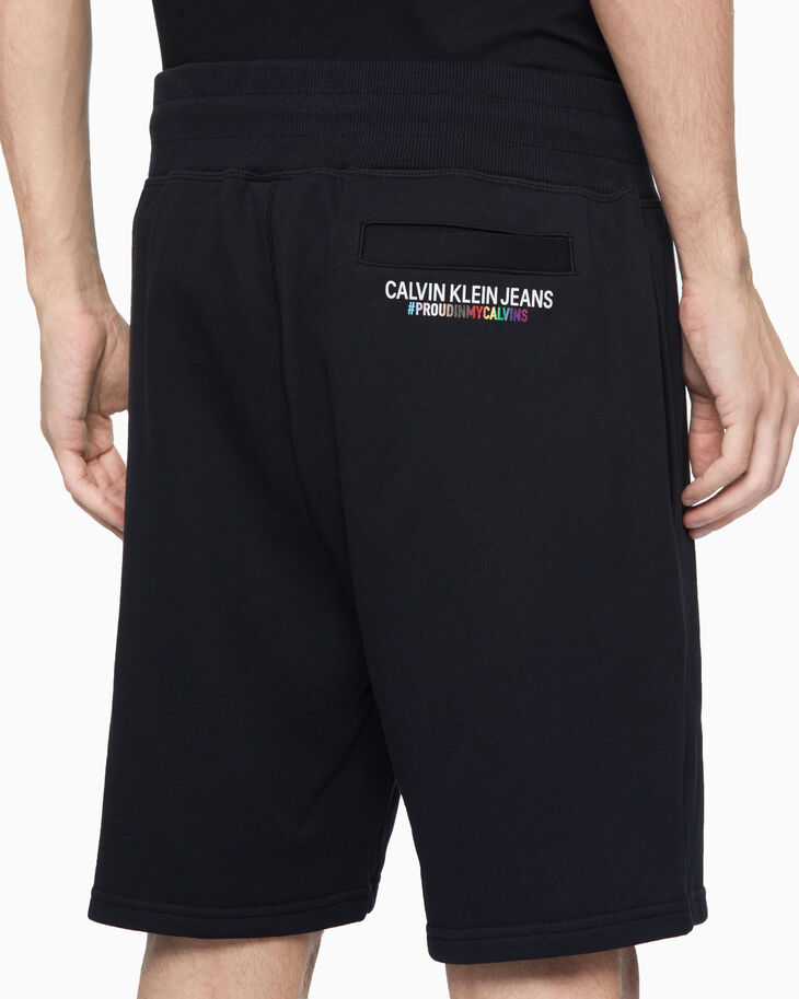 CALVIN KLEIN PRIDE SWEAT SHORTS