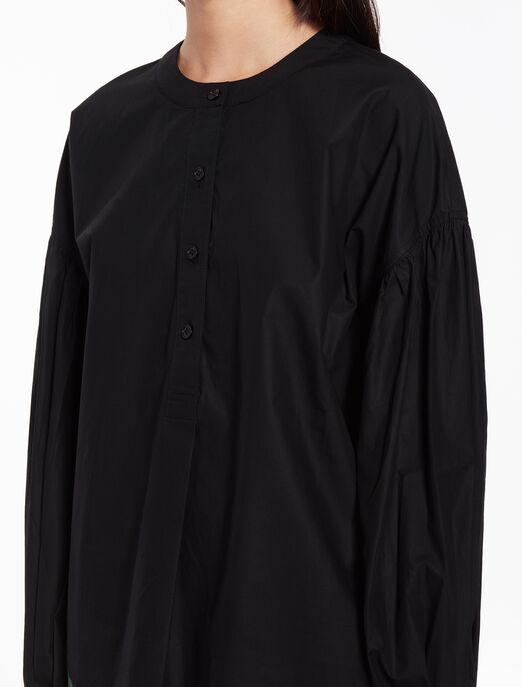 CALVIN KLEIN Grandad collar shirt