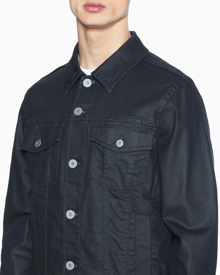 CALVIN KLEIN MATT WAXED 丹寧卡車司機外套
