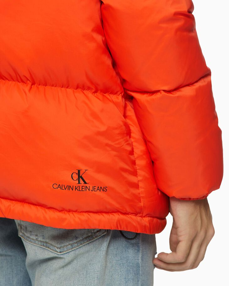 CALVIN KLEIN HIGH FILLED DOWN PUFFER JACKET