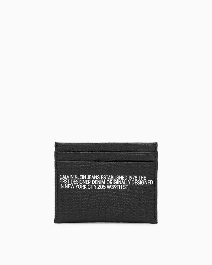 CALVIN KLEIN ESTABLISHED UTILITY CARD CASE
