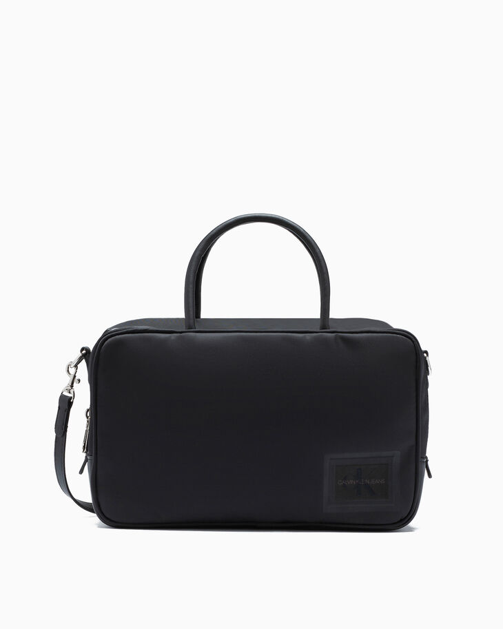 CALVIN KLEIN SLEEK NYLON CROSSBODY BAG