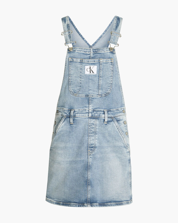 CALVIN KLEIN VINTAGE DENIM DUNGAREE DRESS