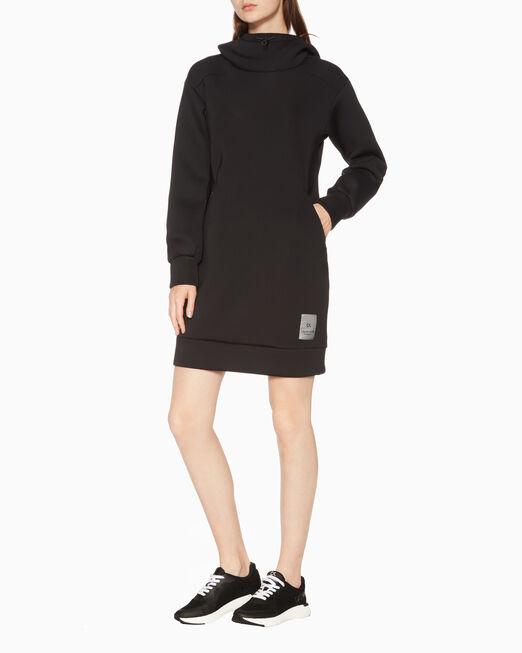 CALVIN KLEIN SPACER 후드 드레스
