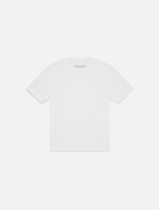 CALVIN KLEIN EST 1978 SMALL PATCH 크루넥 티셔츠