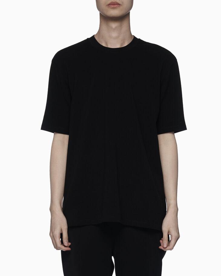 CALVIN KLEIN ニュー クラシック ロゴテープ コットンピケ Tシャツ