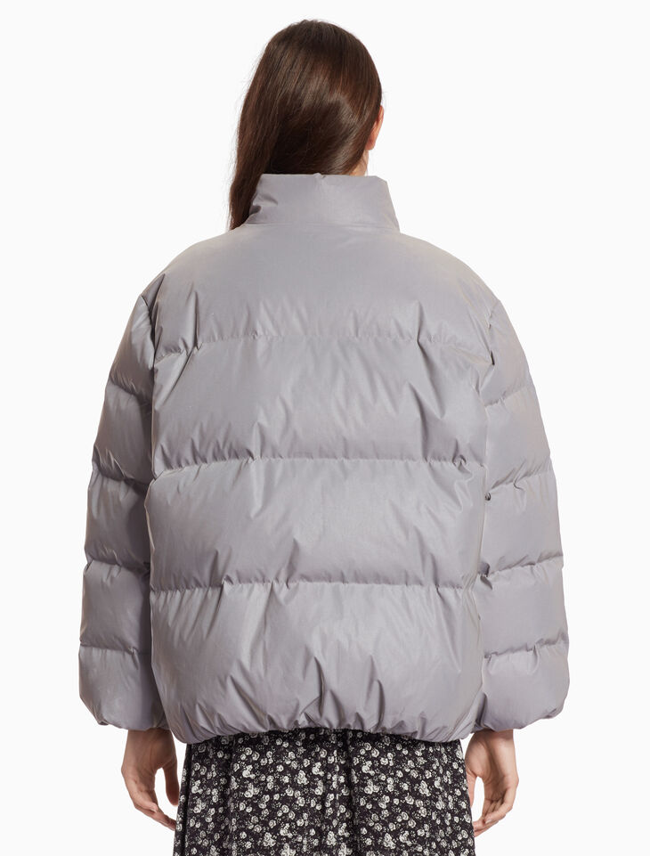 CALVIN KLEIN REFLECTIVE DOWN JACKET