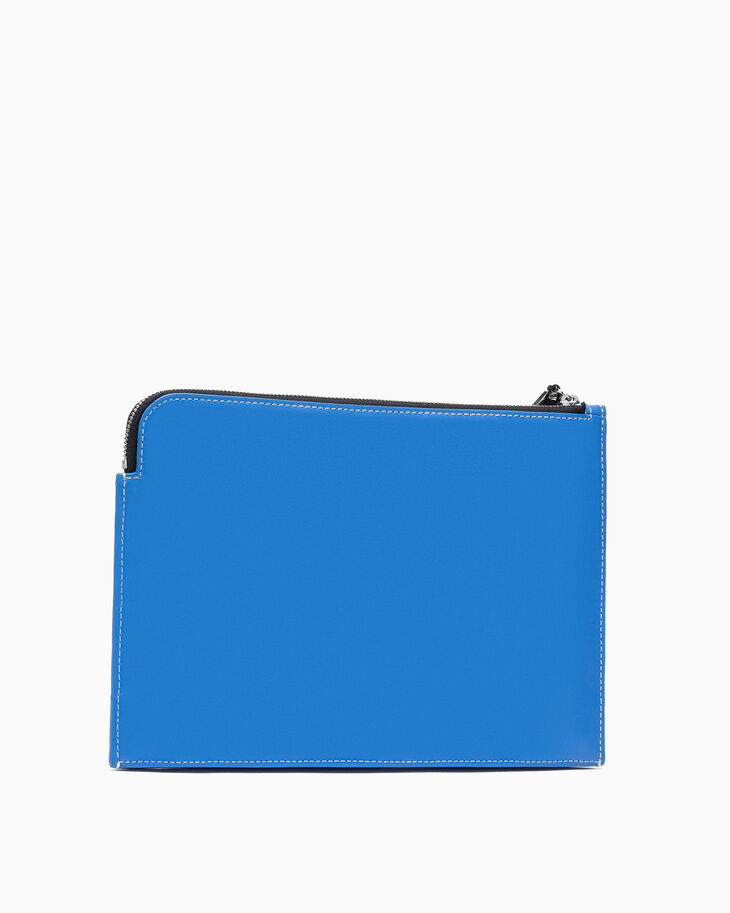 CALVIN KLEIN SMALL LEATHER TRAVEL POUCH