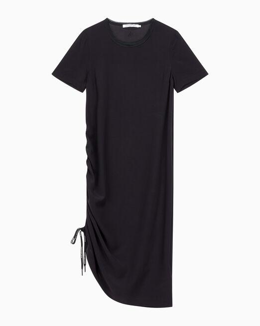 CALVIN KLEIN 여성 끈이 포함된 드레이퍼리 드레스