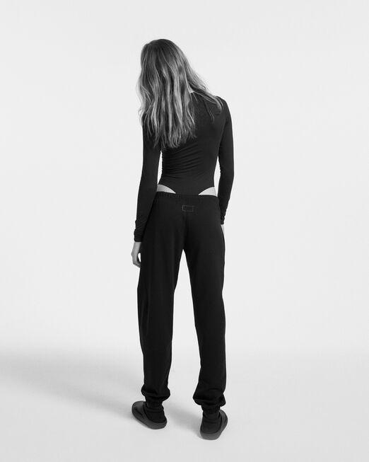 CALVIN KLEIN 여성 프로젝트 오렌지 오가닉 코튼 조거 팬츠(블랙)