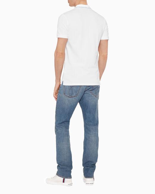 CALVIN KLEIN 인스티튜셔널 피케 폴로 셔츠
