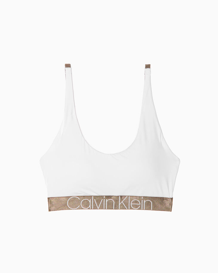 CALVIN KLEIN ICON MICRO LIGHTLY LINED BRALETTE