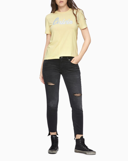 CALVIN KLEIN CKJ 011 INFINITE SOFT MID-RISE SKINNY JEANS