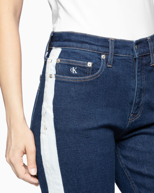 CALVIN KLEIN CKJ 030 SIDE BLEACH HIGH RISE 진