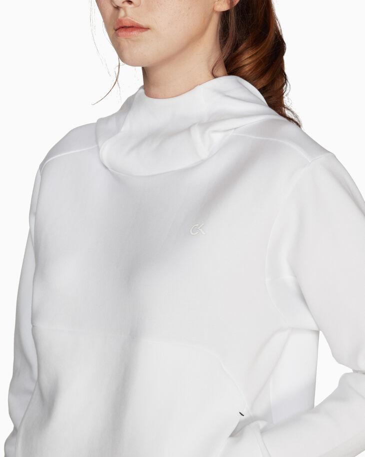 CALVIN KLEIN MODERN SWEAT フード付きプルオーバーセーター