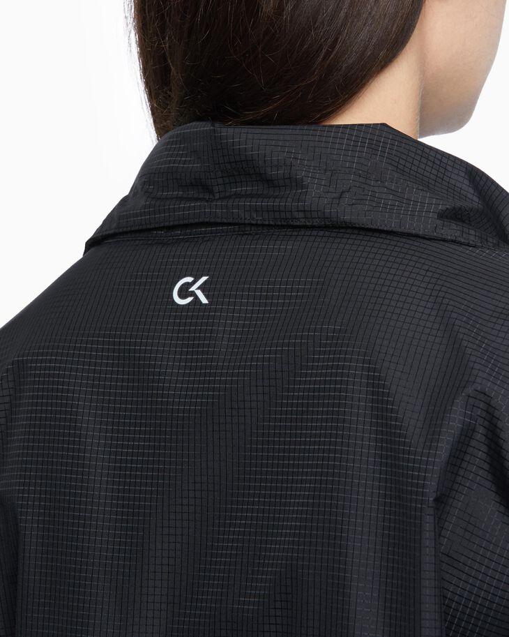 CALVIN KLEIN SHEER LACE ジップアップジャケット