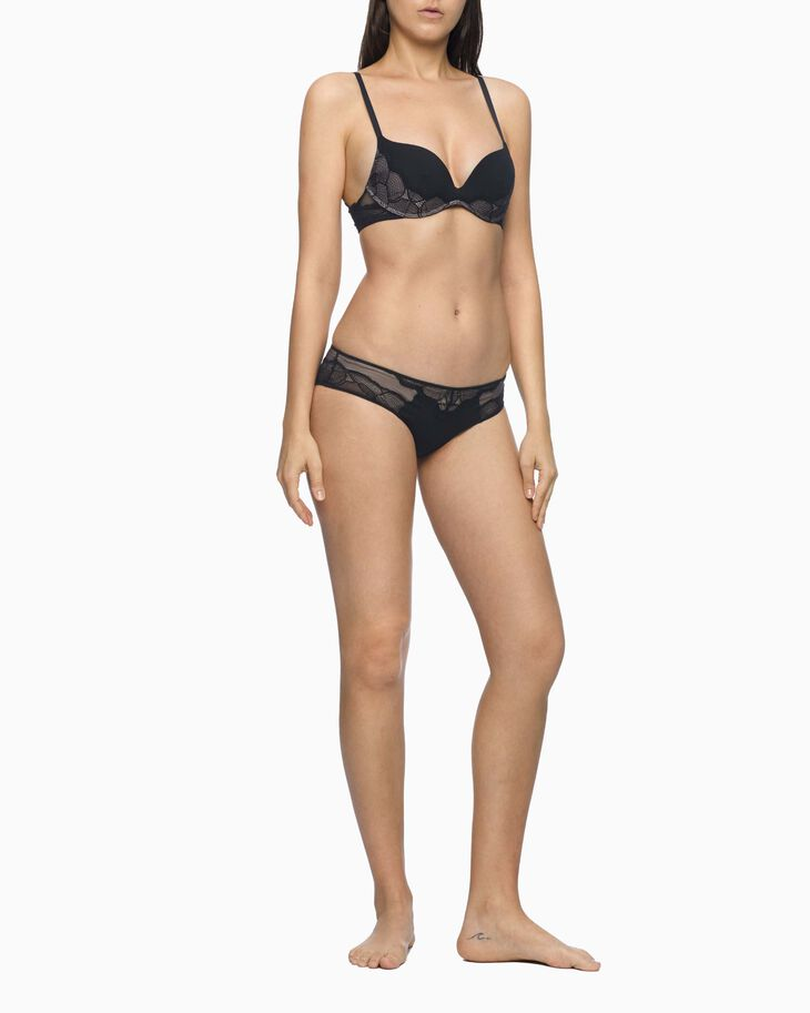 CALVIN KLEIN CK BLACK SHADOW LEAVES HIPSTER