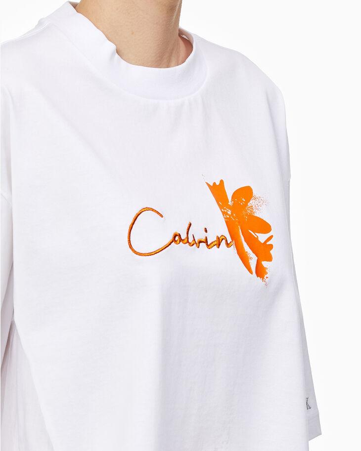 CALVIN KLEIN PREMIUM HYBRID 印花T 恤