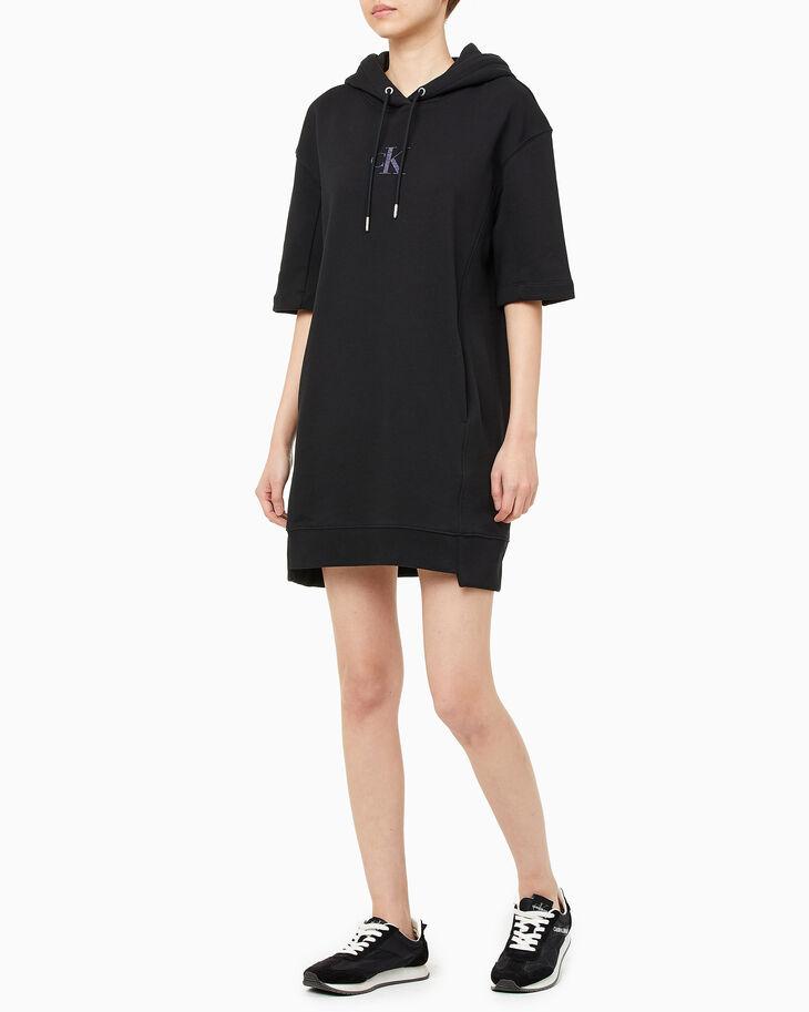 CALVIN KLEIN REFLECTION 連帽運動衫連身裙