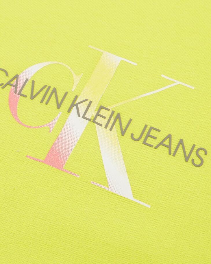 CALVIN KLEIN RAINBOW MONOGRAM SLIM TEE