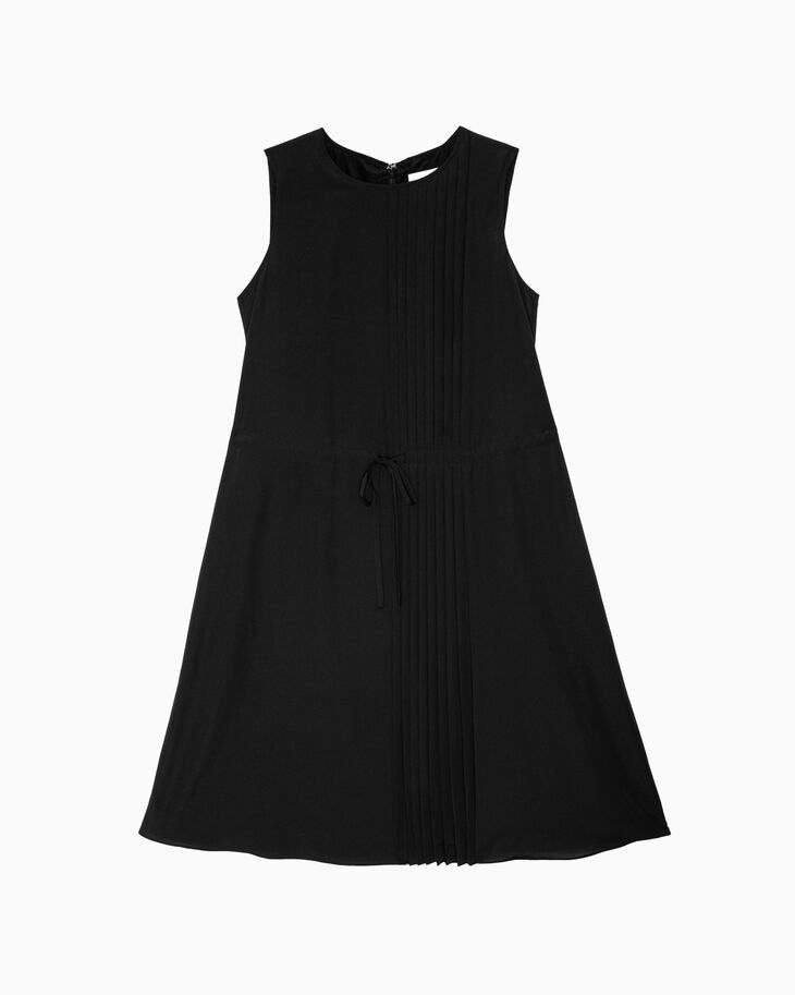 CALVIN KLEIN LIGHTWEIGHT PLEATED DRESS