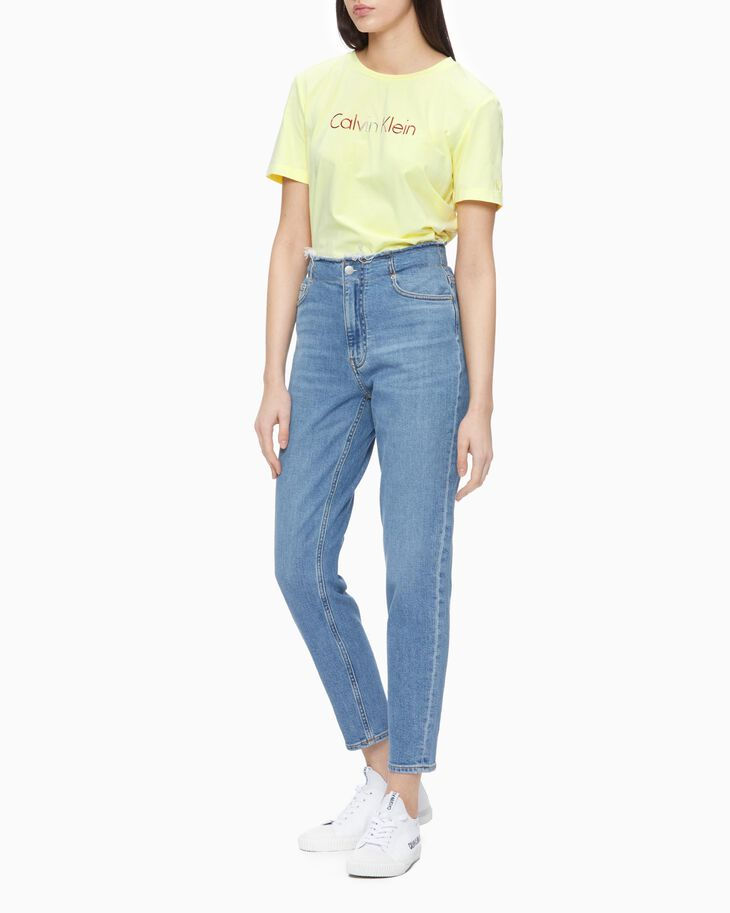 CALVIN KLEIN SUSTAINABLE STRETCH MOM JEANS