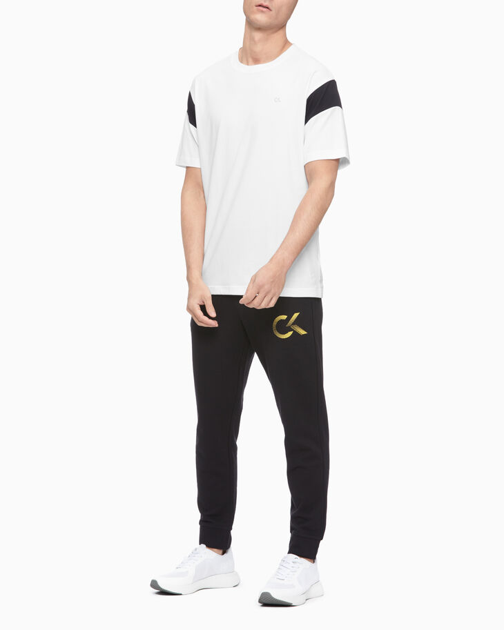 CALVIN KLEIN PERFORMANCE ICON COLOR BLOCK TEE