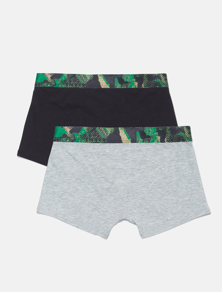 CALVIN KLEIN 2 PACK TRUNK BOXERS FOR BOYS