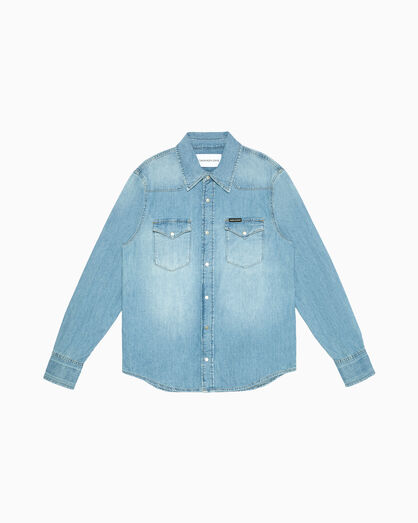 CALVIN KLEIN FOUNDATION WESTERN DENIM SHIRT