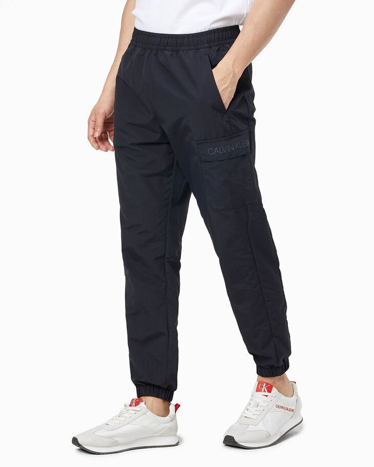 CALVIN KLEIN ACTIVE ICON WOVEN SWEAT PANTS