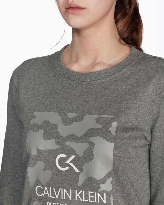 CALVIN KLEIN GRAPHICS BILLBOARD 풀오버 스웨터