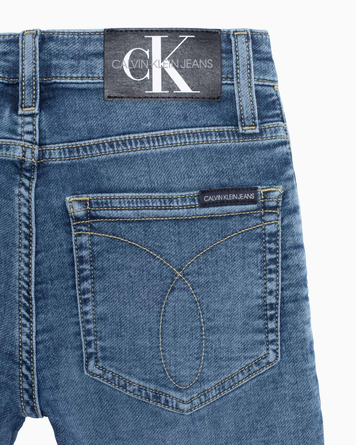 CALVIN KLEIN BOYS WASHED SKINNY JEANS