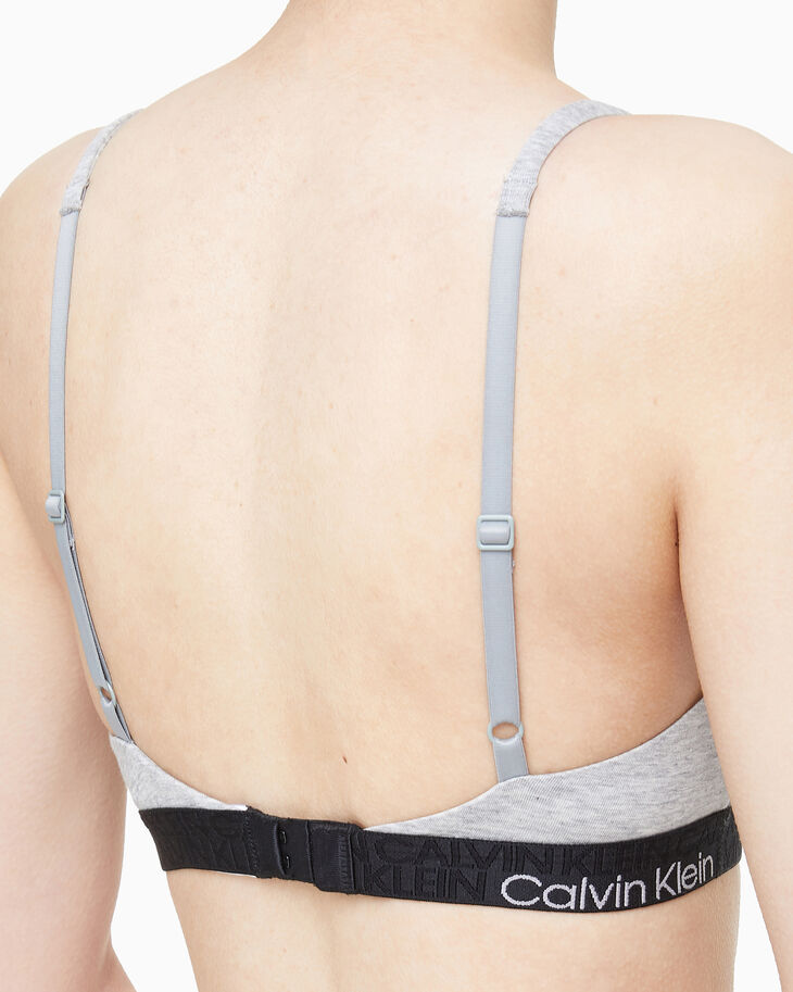 CALVIN KLEIN CK RECONSIDERED COMFORT LIGHTLY LINED BRALETTE