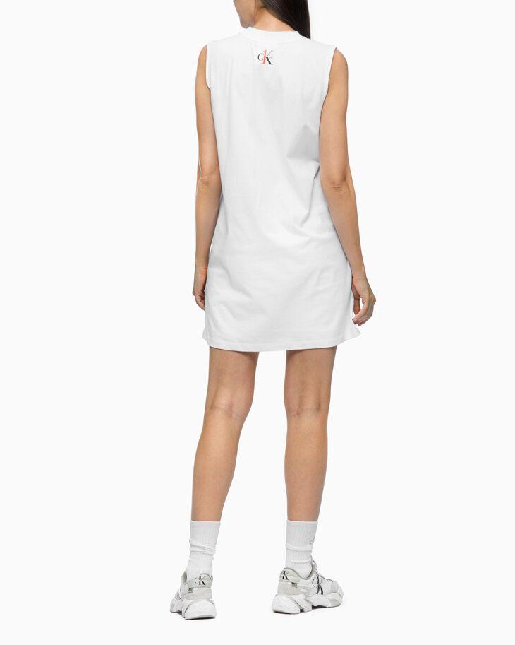 CALVIN KLEIN CK ONE PHOTOGRAPH PRINT T-SHIRT DRESS