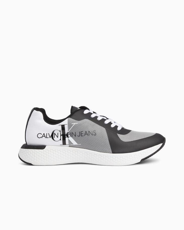 CALVIN KLEIN MONOGRAM 厚底運動鞋