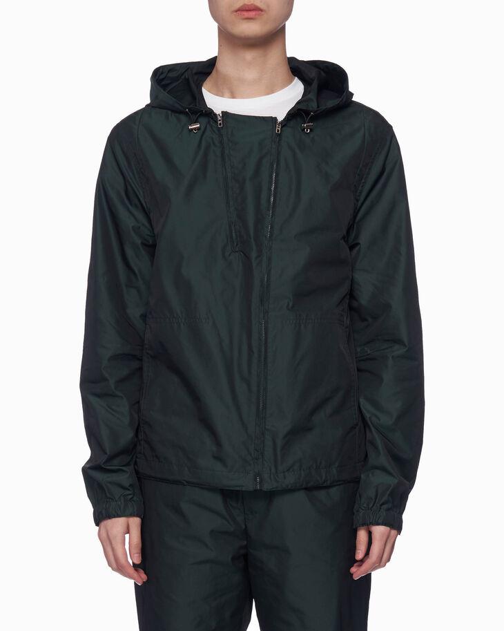 CALVIN KLEIN アンチスタティック ロゴ フード付きジャケット