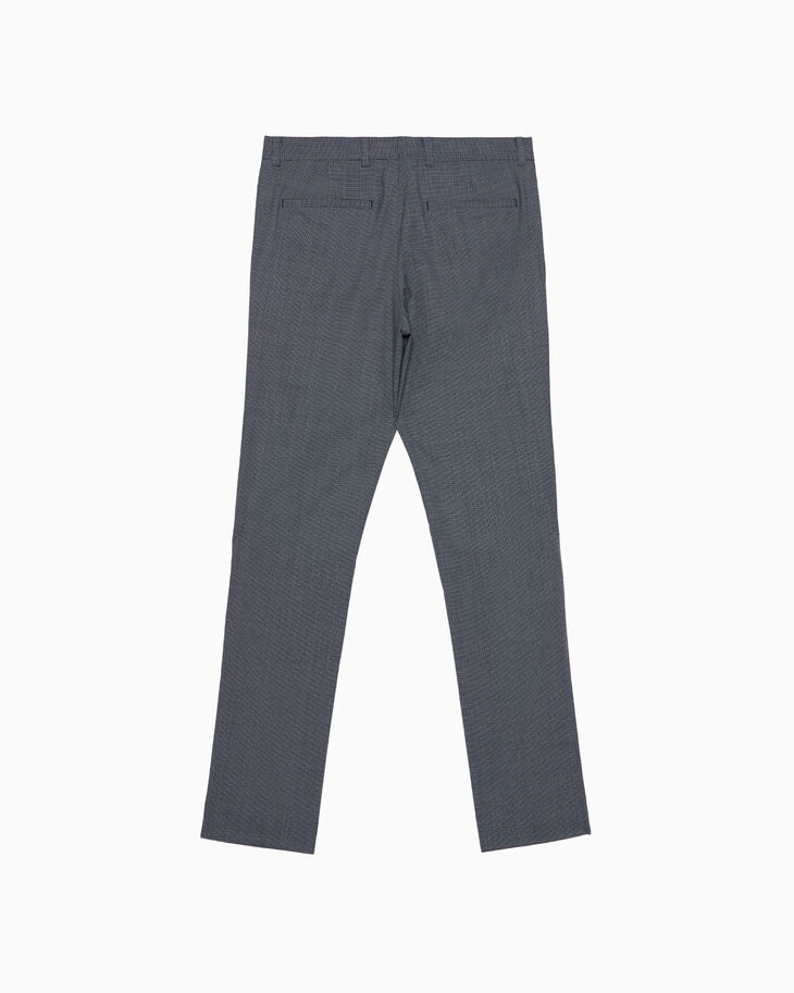 CALVIN KLEIN CHECKED WOVEN PANTS
