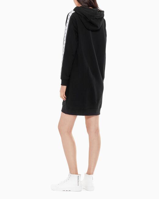 CALVIN KLEIN MONOGRAM TAPE 스웨트 드레스