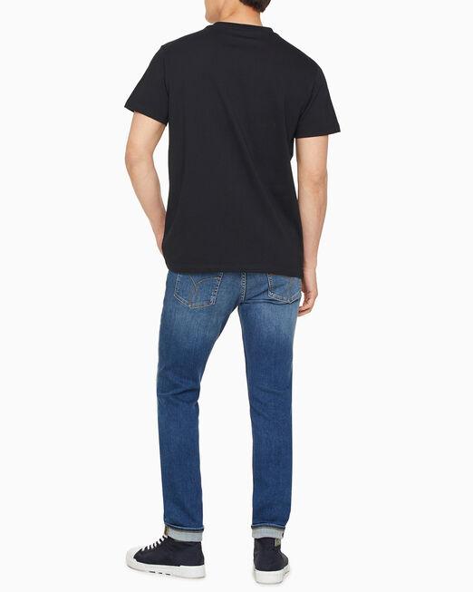 CALVIN KLEIN 남성 레귤러핏 CK 로고 2Pack 반팔 티셔츠