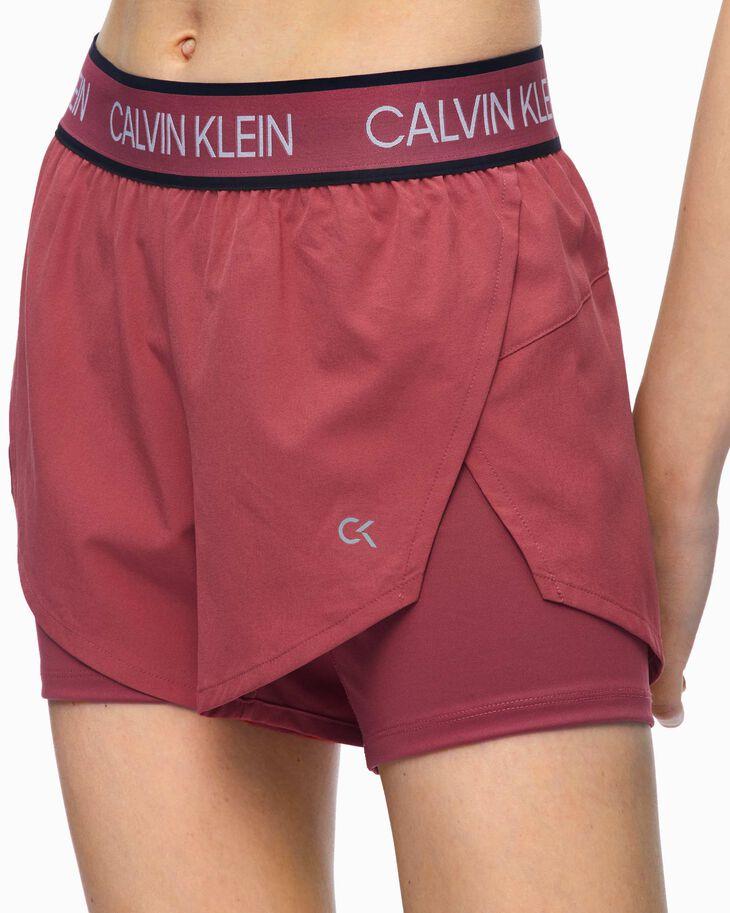 CALVIN KLEIN ACTIVE ICON WOVEN SHORTS