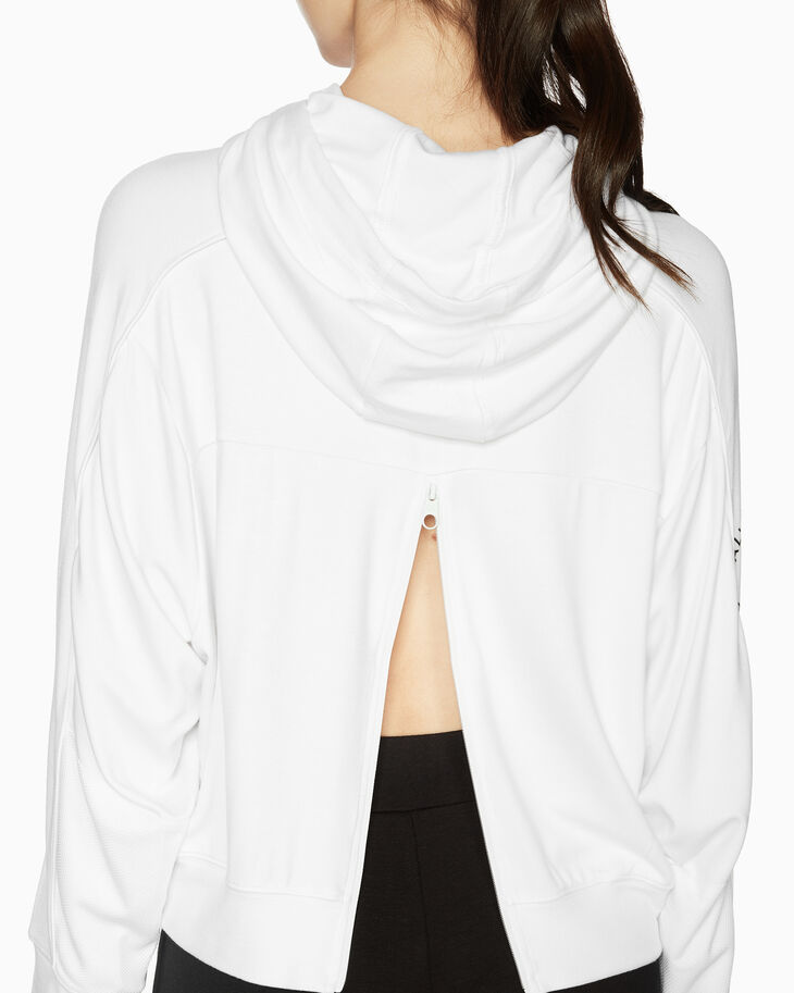 CALVIN KLEIN SPACE LINES HOODED PULLOVER