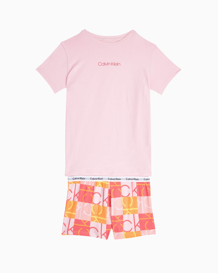 CALVIN KLEIN GIRLS MODERN COTTON パジャマセット
