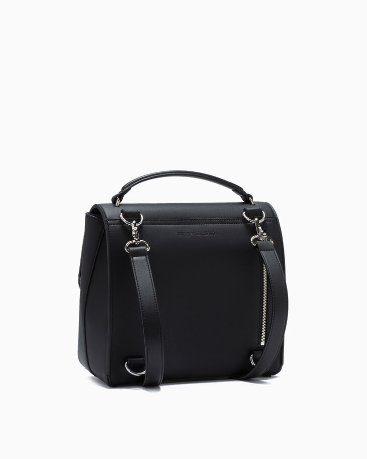 CALVIN KLEIN SCULPTED LOCK BACKPACK