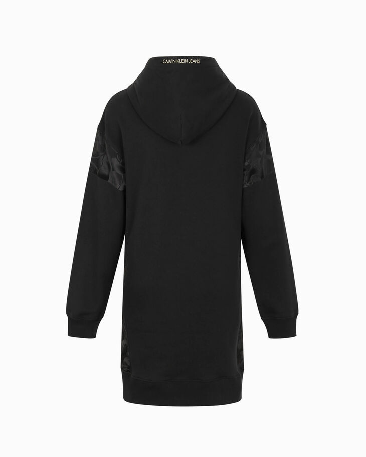 CALVIN KLEIN CHINESE NEW YEAR CAPSULE HOODED SWEAT DRESS