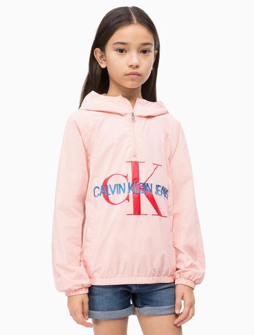 CALVIN KLEIN 여아용 라이트 재킷