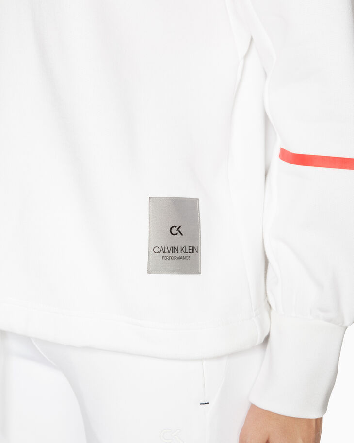 CALVIN KLEIN GALAXY PUFFY SLEEVE PULLOVER