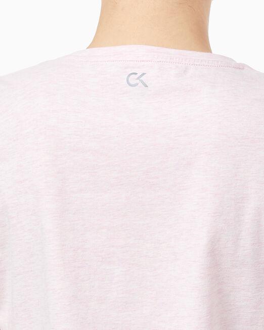 CALVIN KLEIN 여성 씨케이 로고 반팔 티셔츠