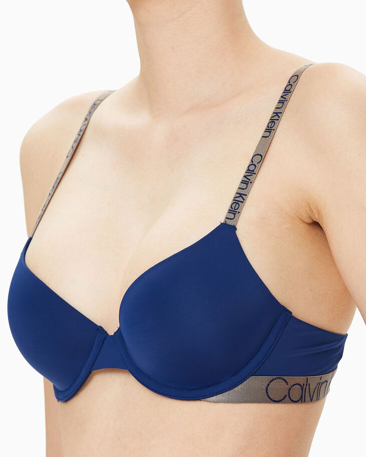 CALVIN KLEIN ICON MICRO LIGHTLY LINED DEMI BRA