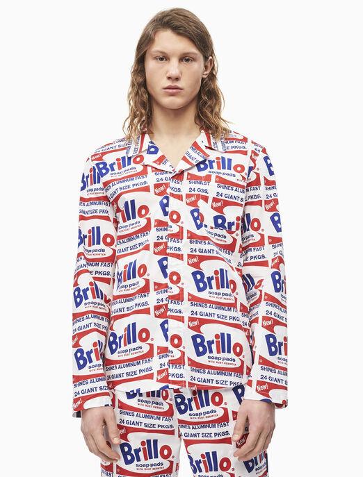 CALVIN KLEIN ANDY WARHOL PRINTED 나이트셔츠